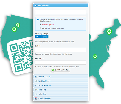 QR Code Tracking, easy with QReate & Track